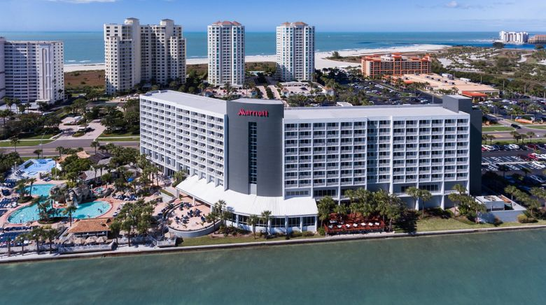 """Clearwater Beach Marriott Suites On Sand Exterior. Images powered by <a href=""""http://www.leonardo.com"""" target=""""_blank"""" rel=""""noopener"""">Leonardo</a>."""