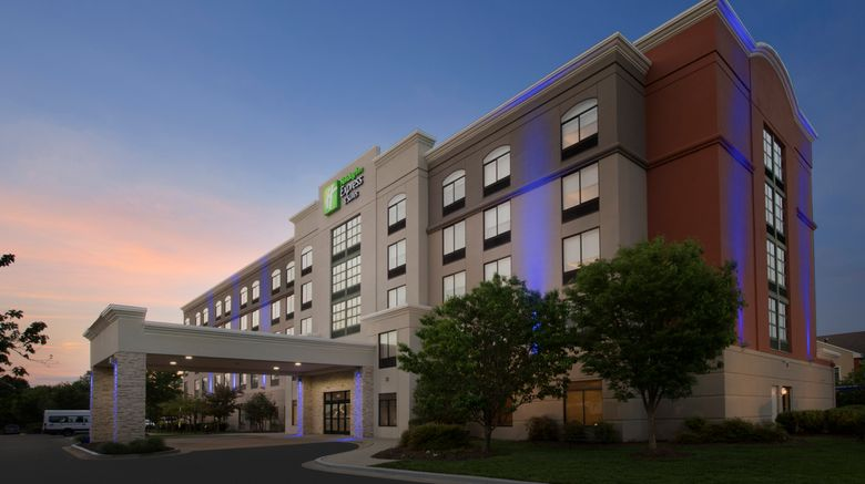 """Holiday Inn Express/Suites BWI Airport N Exterior. Images powered by <a href=""""http://www.leonardo.com"""" target=""""_blank"""" rel=""""noopener"""">Leonardo</a>."""