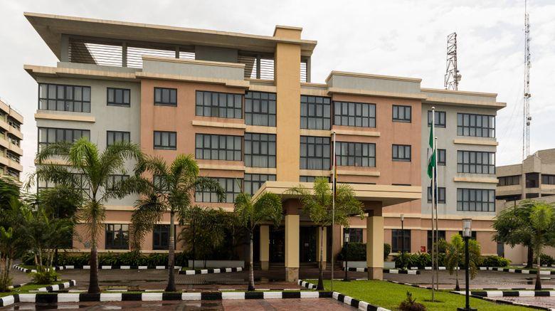 "Protea Hotel Select Ikeja Exterior. Images powered by <a href=""http://www.leonardo.com"" target=""_blank"" rel=""noopener"">Leonardo</a>."