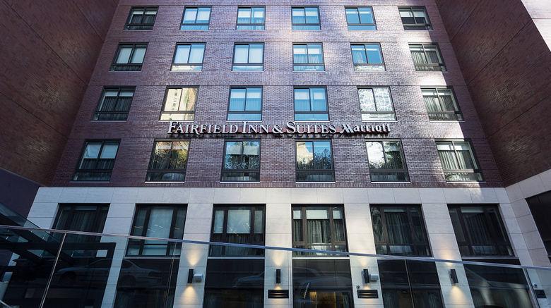 "Fairfield Inn/Stes Manhattan/Central Pk Exterior. Images powered by <a href=""http://www.leonardo.com"" target=""_blank"" rel=""noopener"">Leonardo</a>."