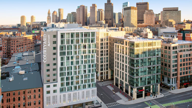 """Courtyard Boston Downtown/North Station Exterior. Images powered by <a href=""""http://www.leonardo.com"""" target=""""_blank"""" rel=""""noopener"""">Leonardo</a>."""