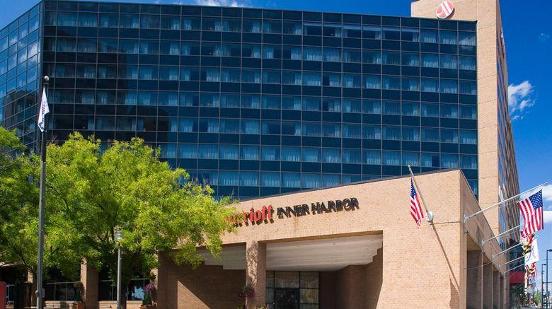 """Baltimore Marriott Inner Harbor Camden Exterior. Images powered by <a href=""""http://www.leonardo.com"""" target=""""_blank"""" rel=""""noopener"""">Leonardo</a>."""