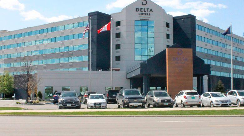 "Delta Hotels Fargo Exterior. Images powered by <a href=""http://www.leonardo.com"" target=""_blank"" rel=""noopener"">Leonardo</a>."