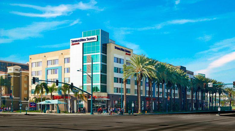 "SpringHill Sts Anaheim Resort Convention Exterior. Images powered by <a href=""http://www.leonardo.com"" target=""_blank"" rel=""noopener"">Leonardo</a>."