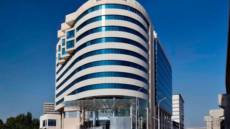 "Marriott Executive Apts Addis Ababa Exterior. Images powered by <a href=""http://www.leonardo.com"" target=""_blank"" rel=""noopener"">Leonardo</a>."