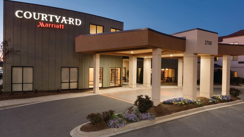 """Courtyard Charlotte Airport North Exterior. Images powered by <a href=""""http://www.leonardo.com"""" target=""""_blank"""" rel=""""noopener"""">Leonardo</a>."""
