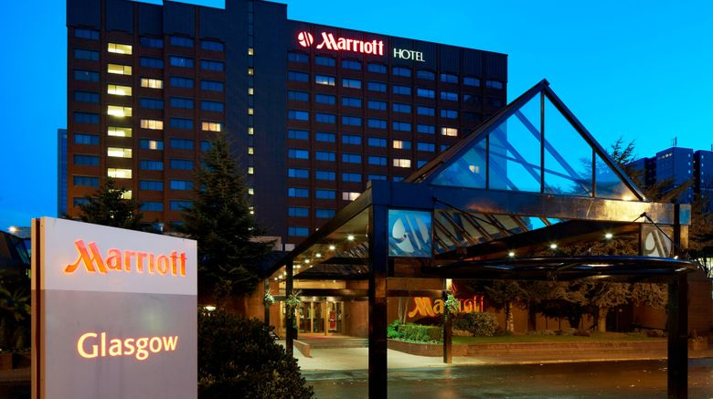 "Glasgow Marriott Hotel Exterior. Images powered by <a href=""http://www.leonardo.com"" target=""_blank"" rel=""noopener"">Leonardo</a>."