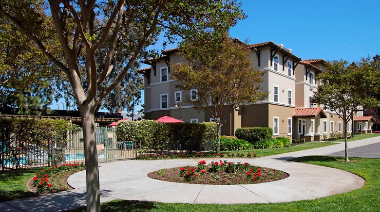 """TownePlace Suites San Jose Cupertino Exterior. Images powered by <a href=""""http://www.leonardo.com"""" target=""""_blank"""" rel=""""noopener"""">Leonardo</a>."""