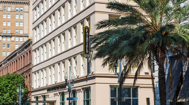 """Fairfield Inn  and  Suites Dtwn/French Qtr Exterior. Images powered by <a href=""""http://www.leonardo.com"""" target=""""_blank"""" rel=""""noopener"""">Leonardo</a>."""