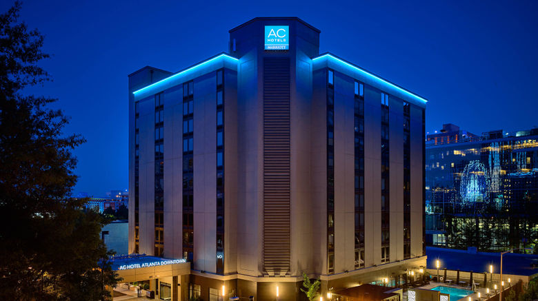 "AC Hotel Atlanta Downtown Exterior. Images powered by <a href=""http://www.leonardo.com"" target=""_blank"" rel=""noopener"">Leonardo</a>."