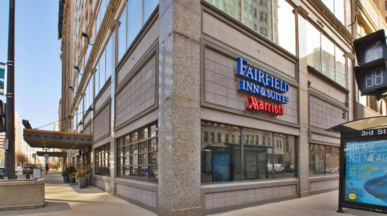 "Fairfield Inn  and  Stes Milwaukee Downtown Exterior. Images powered by <a href=""http://www.leonardo.com"" target=""_blank"" rel=""noopener"">Leonardo</a>."