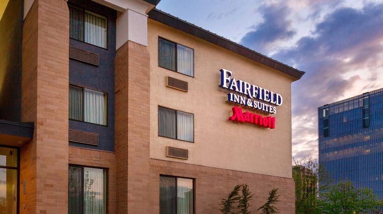 "Fairfield Inn Salt Lake City Downtown Exterior. Images powered by <a href=""http://www.leonardo.com"" target=""_blank"" rel=""noopener"">Leonardo</a>."