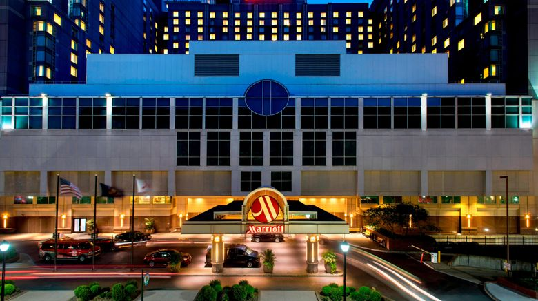 "Philadelphia Marriott Downtown Exterior. Images powered by <a href=""http://www.leonardo.com"" target=""_blank"" rel=""noopener"">Leonardo</a>."