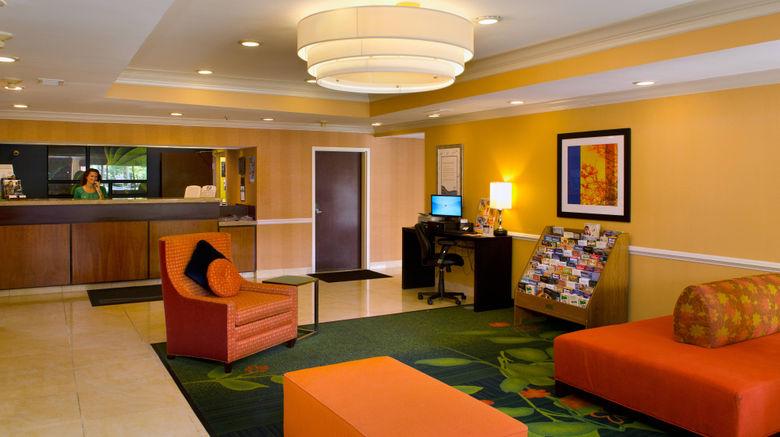 "Fairfield Inn St. Louis Fenton Lobby. Images powered by <a href=""http://www.leonardo.com"" target=""_blank"" rel=""noopener"">Leonardo</a>."