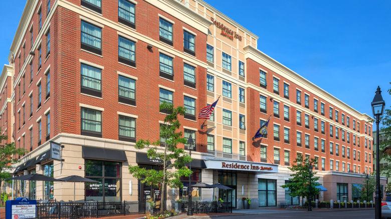 """Residence Inn Portsmouth Downtown Exterior. Images powered by <a href=""""http://www.leonardo.com"""" target=""""_blank"""" rel=""""noopener"""">Leonardo</a>."""