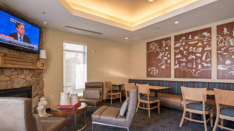 """TownePlace Suites Provo Orem Lobby. Images powered by <a href=""""http://www.leonardo.com"""" target=""""_blank"""" rel=""""noopener"""">Leonardo</a>."""