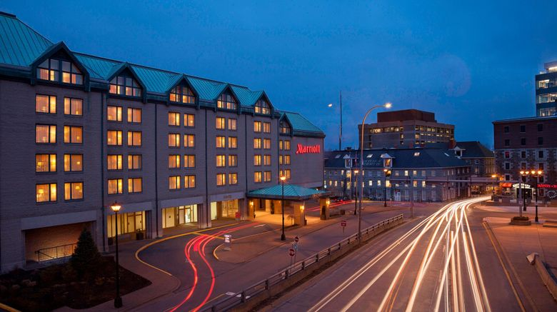 "Halifax Marriott Harbourfront Hotel Exterior. Images powered by <a href=""http://www.leonardo.com"" target=""_blank"" rel=""noopener"">Leonardo</a>."