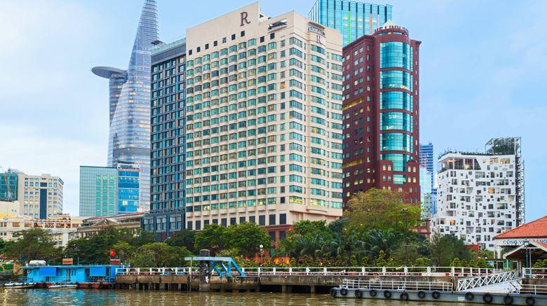 "Renaissance Riverside Hotel Saigon Exterior. Images powered by <a href=""http://www.leonardo.com"" target=""_blank"" rel=""noopener"">Leonardo</a>."