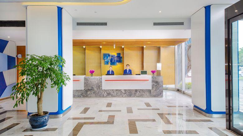 "<b>Holiday Inn Express HighTech Zone Lobby</b>. Images powered by <a href=""https://leonardo.com/"" title=""Leonardo Worldwide"" target=""_blank"">Leonardo</a>."