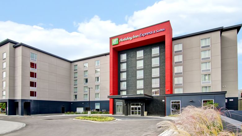 """Holiday Inn Express  and  Suites Oshawa Exterior. Images powered by <a href=""""http://www.leonardo.com"""" target=""""_blank"""" rel=""""noopener"""">Leonardo</a>."""