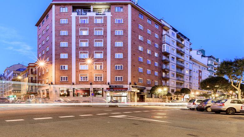 """Hotel Quindos Exterior. Images powered by <a href=""""http://www.leonardo.com"""" target=""""_blank"""" rel=""""noopener"""">Leonardo</a>."""
