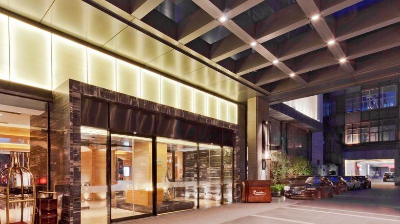"Pullman Shanghai Jingan Hotel Exterior. Images powered by <a href=""http://www.leonardo.com"" target=""_blank"" rel=""noopener"">Leonardo</a>."