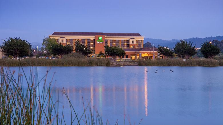 "Holiday Inn Express At Monterey Bay Exterior. Images powered by <a href=""http://www.leonardo.com"" target=""_blank"" rel=""noopener"">Leonardo</a>."