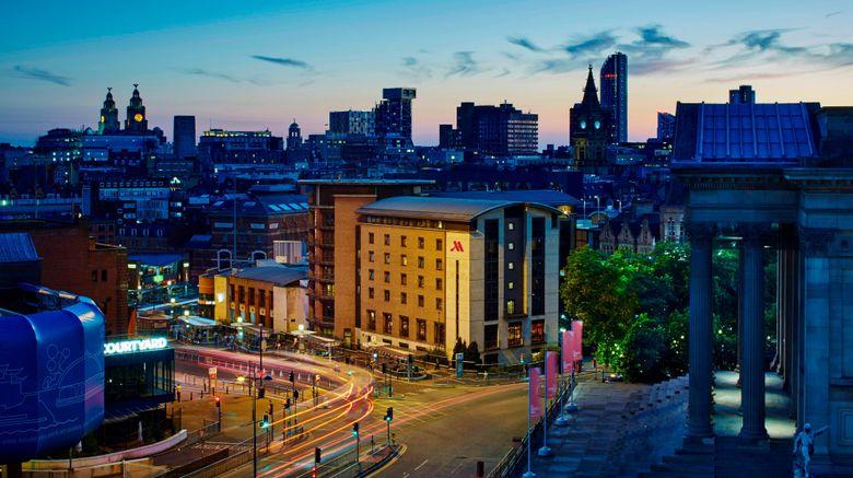 "Liverpool Marriott Hotel City Centre Exterior. Images powered by <a href=""http://www.leonardo.com"" target=""_blank"" rel=""noopener"">Leonardo</a>."