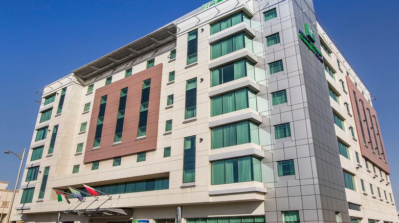 "Holiday Inn Express Dubai/Jumeirah Exterior. Images powered by <a href=""http://www.leonardo.com"" target=""_blank"" rel=""noopener"">Leonardo</a>."
