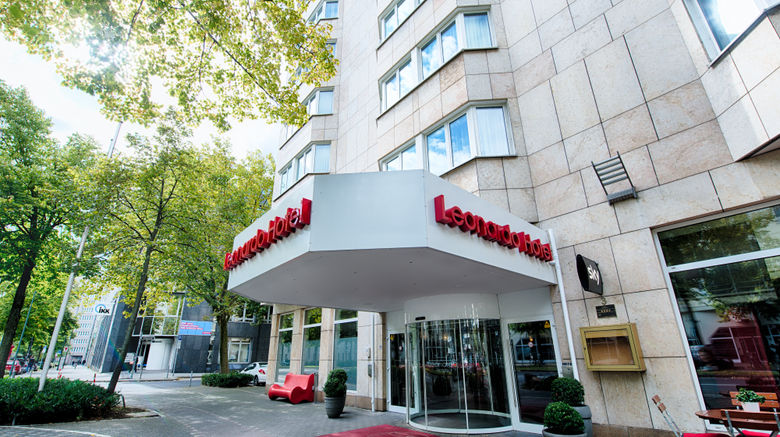 """Leonardo Hotel Duesseldorf City Center Exterior. Images powered by <a href=""""http://www.leonardo.com"""" target=""""_blank"""" rel=""""noopener"""">Leonardo</a>."""