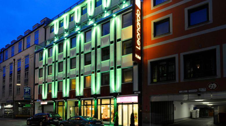 """Leonardo Hotel Munich City Center Exterior. Images powered by <a href=""""http://www.leonardo.com"""" target=""""_blank"""" rel=""""noopener"""">Leonardo</a>."""