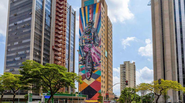 "Ibis Styles Sao Paulo Faria Lima Exterior. Images powered by <a href=""http://www.leonardo.com"" target=""_blank"" rel=""noopener"">Leonardo</a>."
