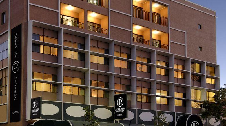 "Adelaide Riviera Hotel Exterior. Images powered by <a href=""http://www.leonardo.com"" target=""_blank"" rel=""noopener"">Leonardo</a>."