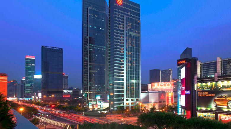 "Sheraton Guangzhou Hotel Exterior. Images powered by <a href=""http://www.leonardo.com"" target=""_blank"" rel=""noopener"">Leonardo</a>."