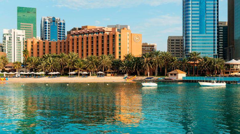 "Sheraton Abu Dhabi Hotel  and  Resort Exterior. Images powered by <a href=""http://www.leonardo.com"" target=""_blank"" rel=""noopener"">Leonardo</a>."