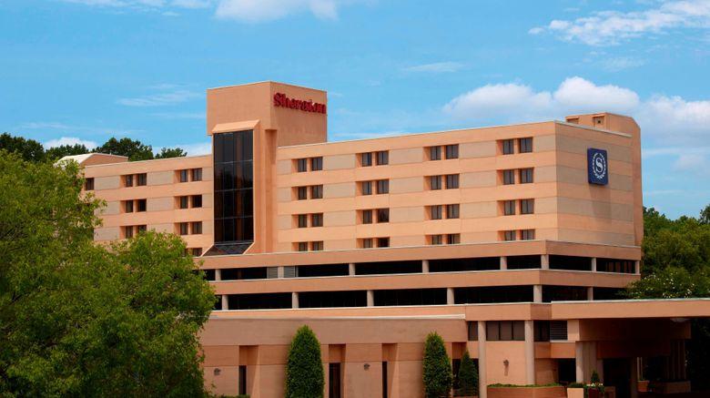 "Sheraton Charlotte Airport Hotel Exterior. Images powered by <a href=""http://www.leonardo.com"" target=""_blank"" rel=""noopener"">Leonardo</a>."