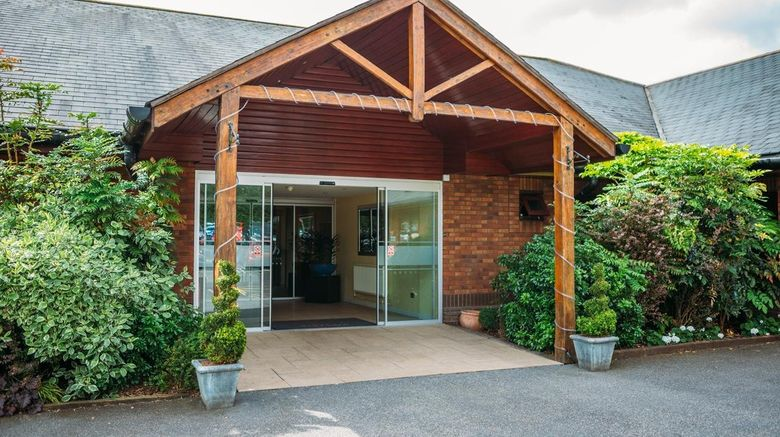 """Draycote Hotel - Rugby Exterior. Images powered by <a href=""""http://www.leonardo.com"""" target=""""_blank"""" rel=""""noopener"""">Leonardo</a>."""