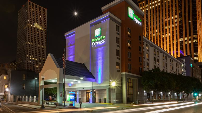 """Holiday Inn Express New Orleans Downtown Exterior. Images powered by <a href=""""http://www.leonardo.com"""" target=""""_blank"""" rel=""""noopener"""">Leonardo</a>."""