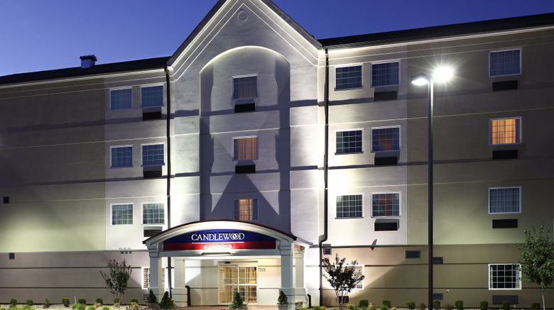 """Candlewood Suites Fort Smith Exterior. Images powered by <a href=""""http://www.leonardo.com"""" target=""""_blank"""" rel=""""noopener"""">Leonardo</a>."""