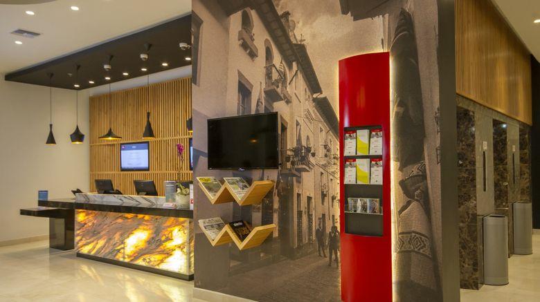 """Ibis Quito Exterior. Images powered by <a href=""""http://www.leonardo.com"""" target=""""_blank"""" rel=""""noopener"""">Leonardo</a>."""