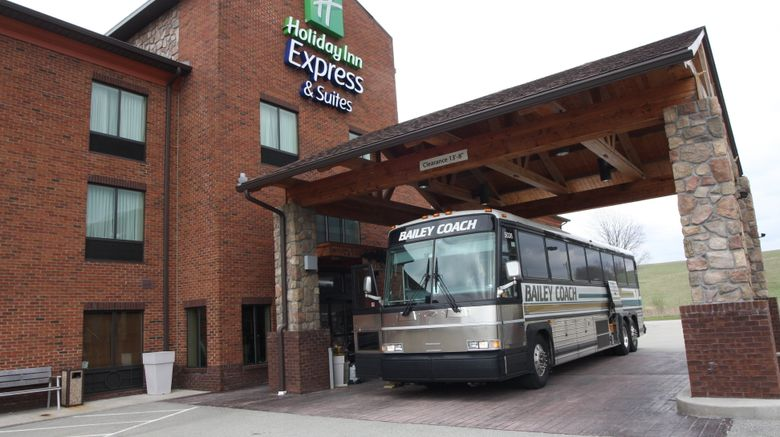 """Holiday Inn Express and Suites Donegal Exterior. Images powered by <a href=""""http://www.leonardo.com"""" target=""""_blank"""" rel=""""noopener"""">Leonardo</a>."""