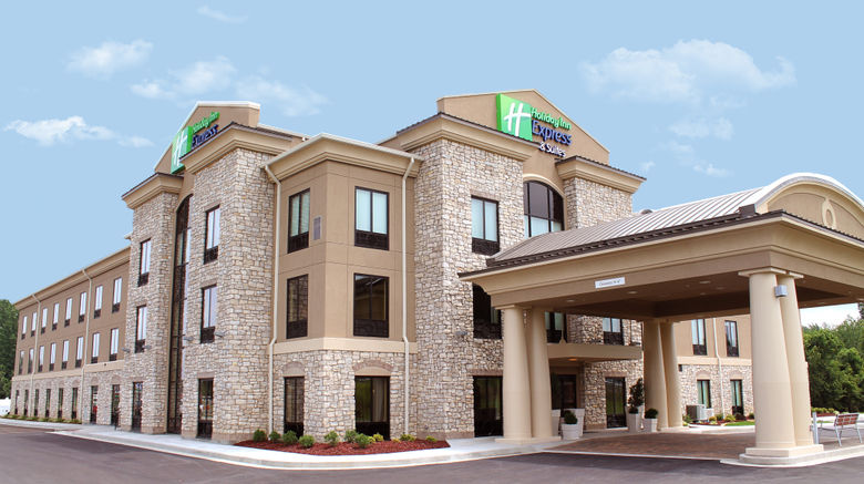 """Holiday Inn Express Hotel/Suites Paducah Exterior. Images powered by <a href=""""http://www.leonardo.com"""" target=""""_blank"""" rel=""""noopener"""">Leonardo</a>."""