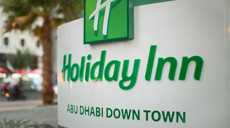 "Holiday Inn Abu Dhabi Downtown Exterior. Images powered by <a href=""http://www.leonardo.com"" target=""_blank"" rel=""noopener"">Leonardo</a>."