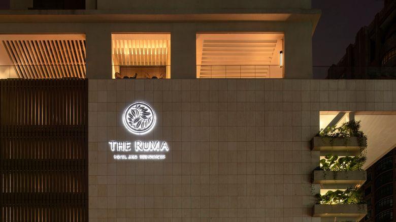 "The RuMa Hotel and Residences Exterior. Images powered by <a href=""http://www.leonardo.com"" target=""_blank"" rel=""noopener"">Leonardo</a>."
