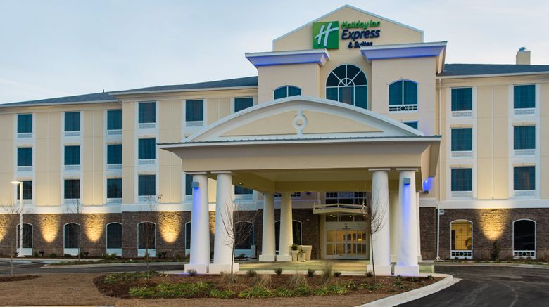 "Holiday Inn Express  and  Suites Aiken Exterior. Images powered by <a href=""http://www.leonardo.com"" target=""_blank"" rel=""noopener"">Leonardo</a>."