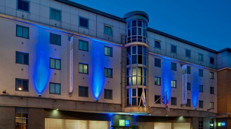 "Holiday Inn Express London City Exterior. Images powered by <a href=""http://www.leonardo.com"" target=""_blank"" rel=""noopener"">Leonardo</a>."