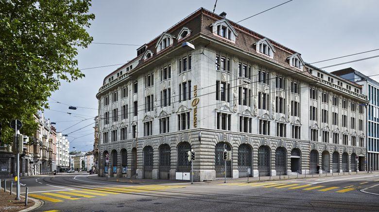 "Motel One Zurich Exterior. Images powered by <a href=""http://www.leonardo.com"" target=""_blank"" rel=""noopener"">Leonardo</a>."