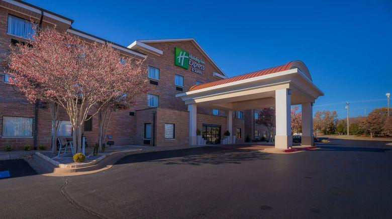 "Holiday Inn Express  and  Suites Edmond Exterior. Images powered by <a href=""http://www.leonardo.com"" target=""_blank"" rel=""noopener"">Leonardo</a>."