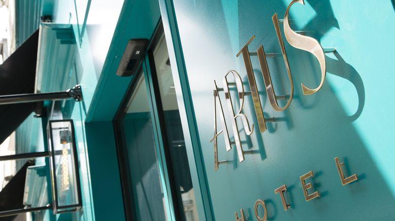 "Hotel Artus Exterior. Images powered by <a href=""http://www.leonardo.com"" target=""_blank"" rel=""noopener"">Leonardo</a>."