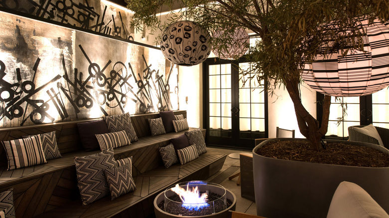 "Kimpton La Peer Hotel Exterior. Images powered by <a href=""http://www.leonardo.com"" target=""_blank"" rel=""noopener"">Leonardo</a>."